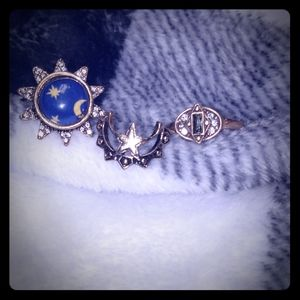 American Eagle rings